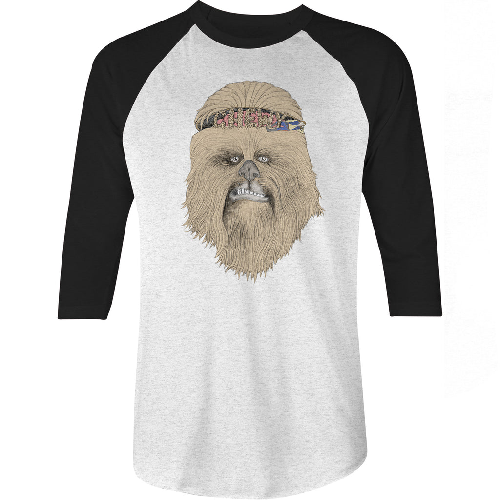 Chewbacca Star Wars Baseball T Shirt Dr Clothing Co Drclothingco