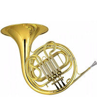 Amati F Single French Horn AHR 321A I-O - Yellow Brass-Lacquered- NEW