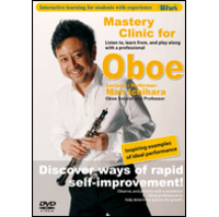 Winds Vol. 18 Mastery Clinic for Oboe