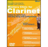 Winds Vol. 5 Mastery Clinic for Clarinet