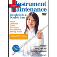 Winds Vol. 8 Instrument Maintenance: Woodwind & Double bass