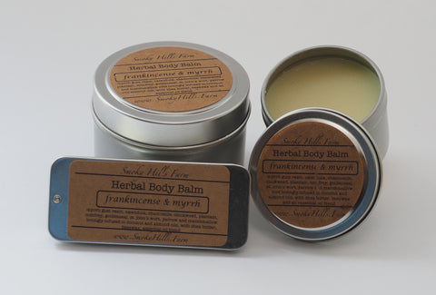 Frankincense and Myrrh Hand and Body Balm