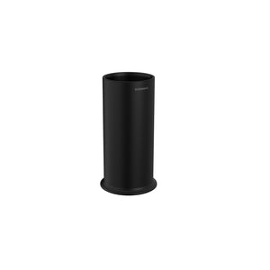 FREE STANDING BRUSH HOLDER MATTE BLACK
