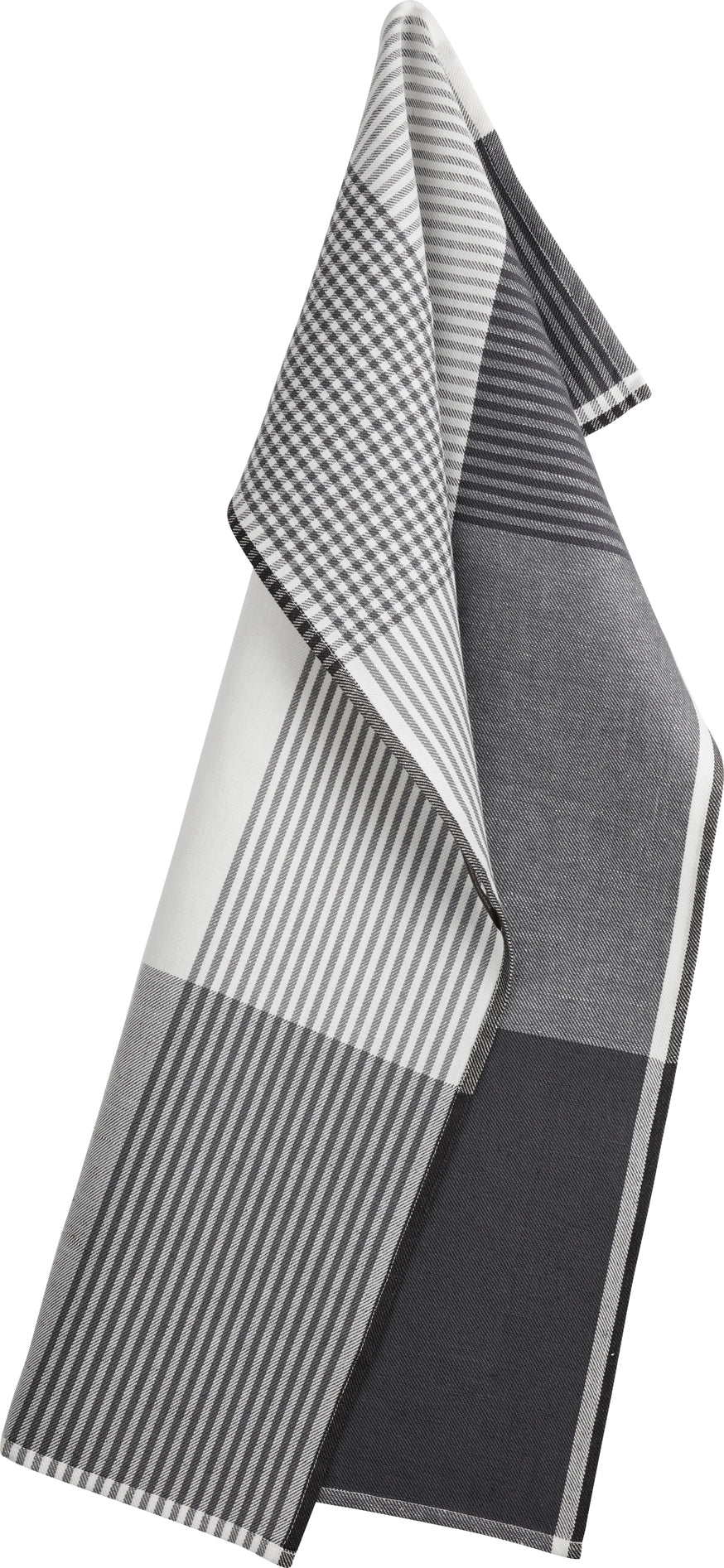 BECKER 63 tea towels Flint Grey