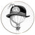 Balloon Bowler Hat - Plate - Large