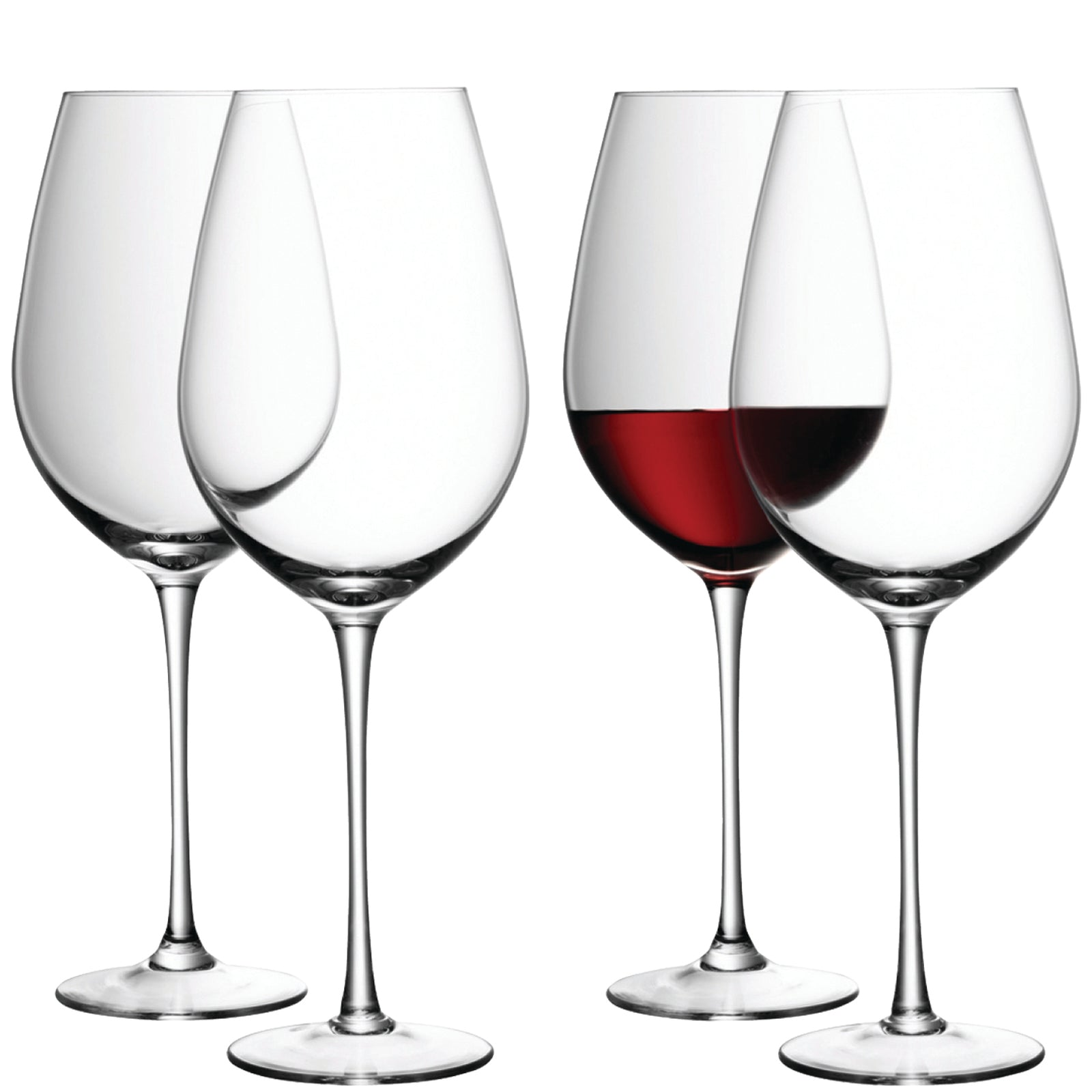 Wine Red Wine Goblet 850ml Clear - Set of 4