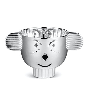 Pipoz - Silver-plated candle holder