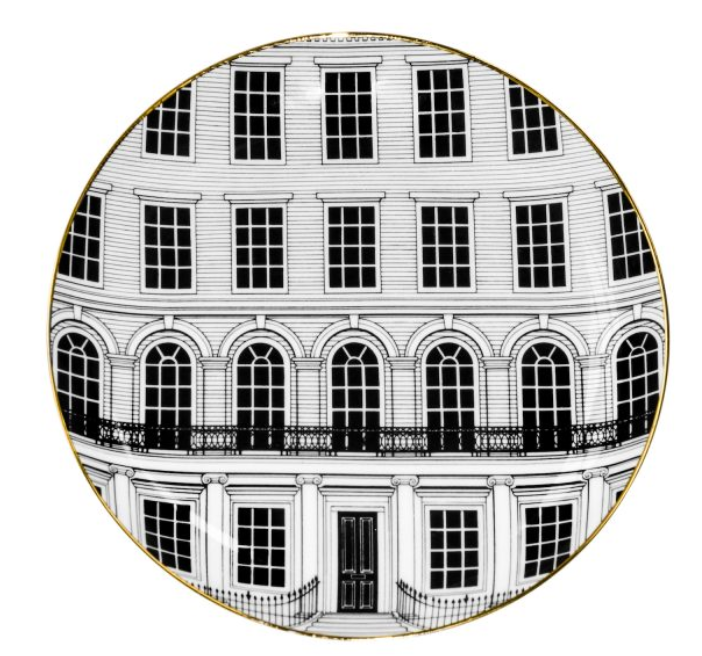 Beautiful Buildings - Plate