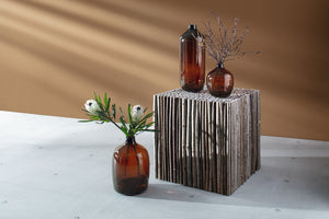 Vessel Vase Peat Brown