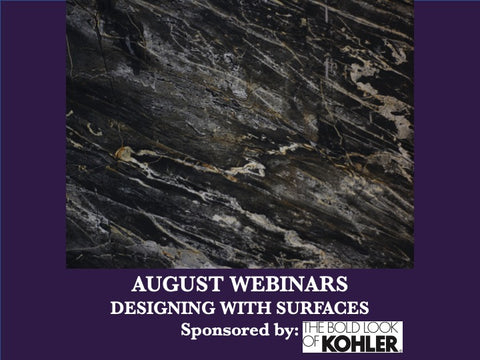 August - Free Webinars - Large Format Porcelain Slabs: A Revolutionary Product in the Architectural World