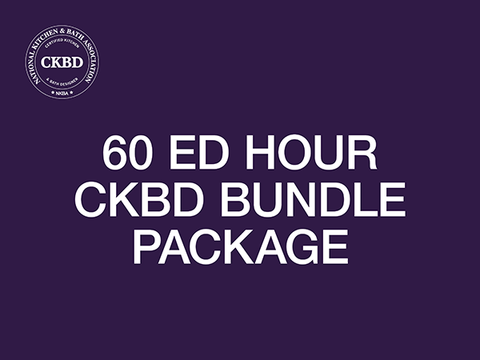 60 Ed Hour CKBD Bundle Package