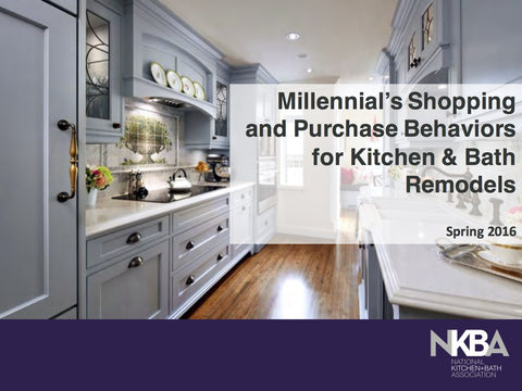 2016 Millennial's Shopping & Purchase Behaviors for K&B Remodels