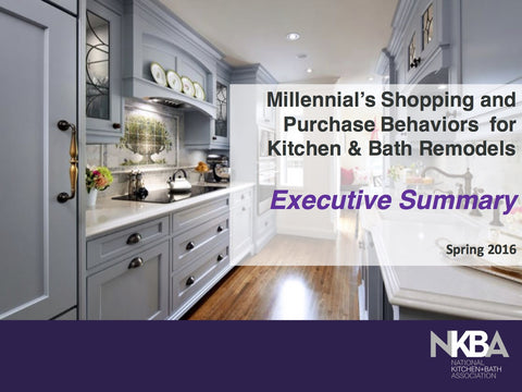 2016 Millennial's Shopping & Purchase Behaviors for K&B Remodels - Executive Summary