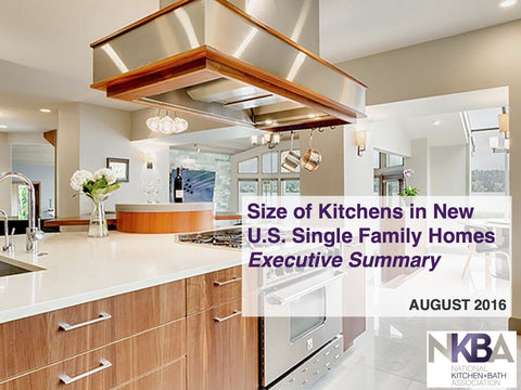 Size of Kitchens in New U.S. Single Family Homes - Executive Summary