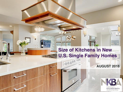 Size of Kitchens in New U.S. Single Family Homes