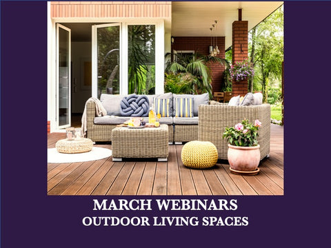 March - Free Webinars - Winning Outdoor Kitchen Design