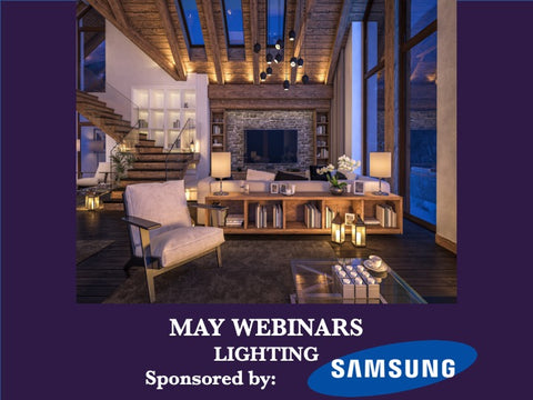 May - Free Webinars - Lighting the Way to Improved Wellness at Home