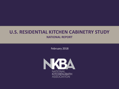 2018 NKBA National Kitchen Cabinetry Report