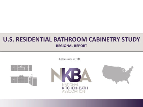 2018 NKBA Regional Bathroom Cabinetry Report