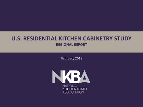 2018 NKBA Regional Kitchen Cabinetry Report