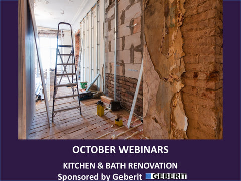October - Free Webinars - Your K&B Website is Not Your Marketing Plan