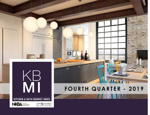 NKBA/John Burns Kitchen & Bath Market Index (KBMI) - Q4 2019