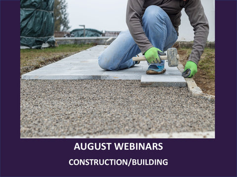 August - Free Webinars - Innovating in Your Specific Field