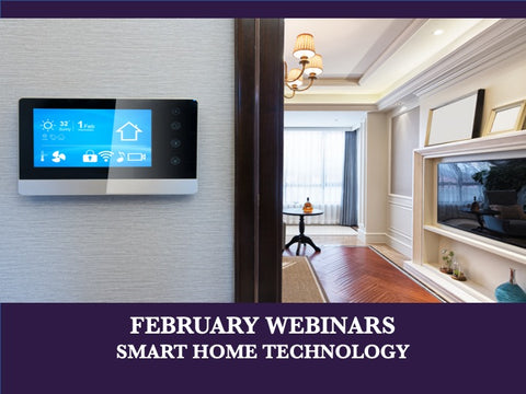 February - Free Webinars - Five Levels of a Smart Home