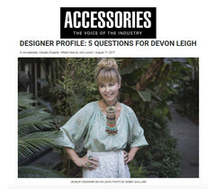 Devon Leigh Accessories Magazine