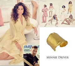 Minnie Driver Hollywood Reporter Cuff