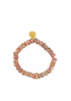 Rhodonite Stretch Bracelet