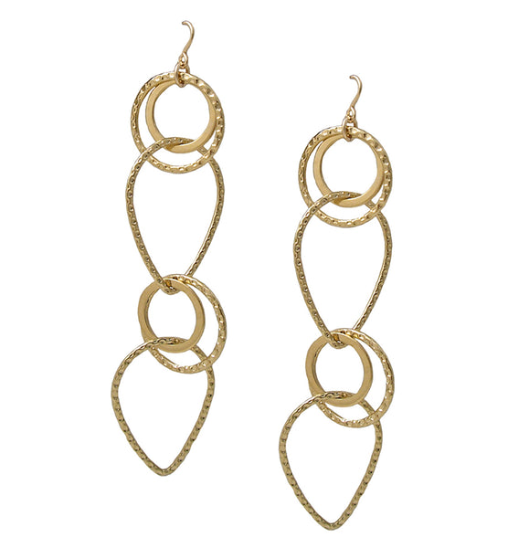 Multi Loop Long Earrings