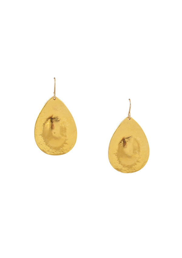 Gold Teardrop Earrings