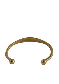 Perfect layering brass bangle bracelet with unique, one-of-a-kind design. Handmade in the USA by Devon Leigh herself!