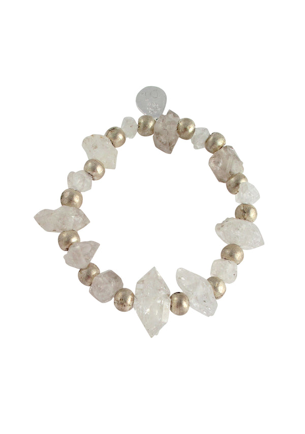 Herkimer Diamond Stretch Bracelet