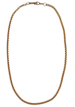 Bronze Cable Chain Necklace