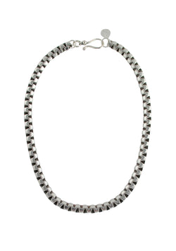 Silver Cable Chain Necklace