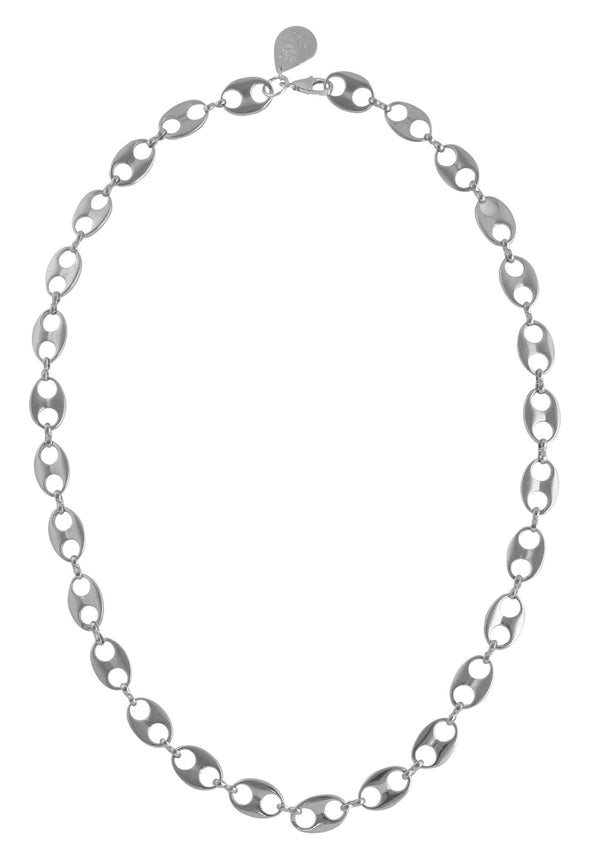 Rhodium Link Chain