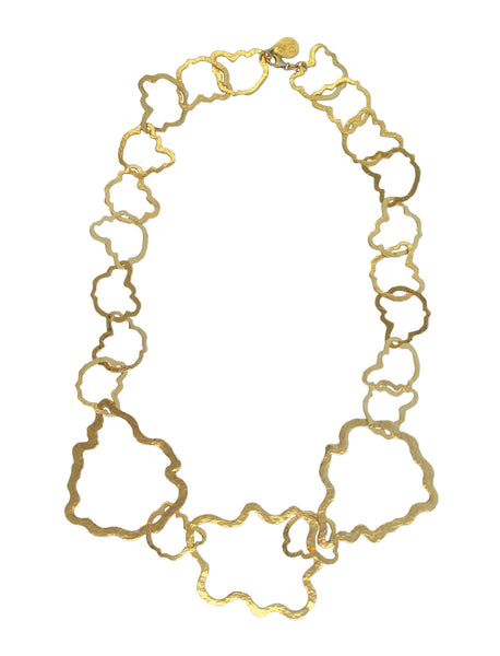 Irregular Gold Chain Necklace