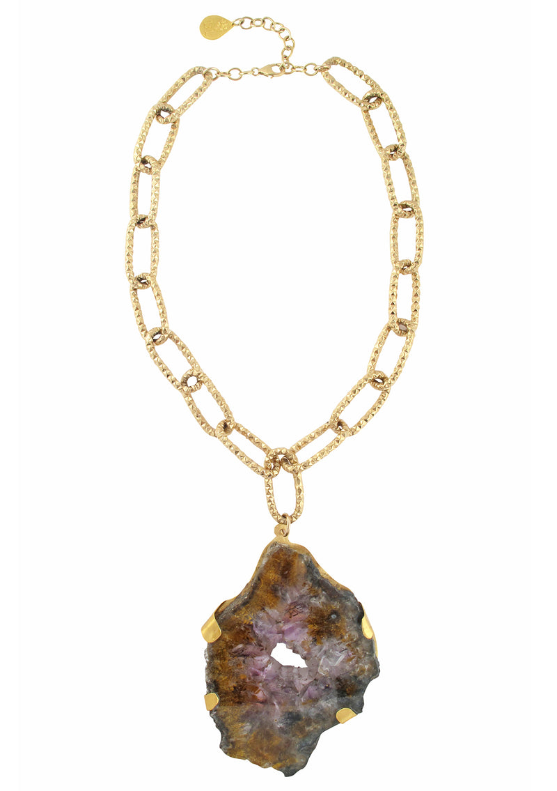 One of a Kind Ametrine Pendant Necklace