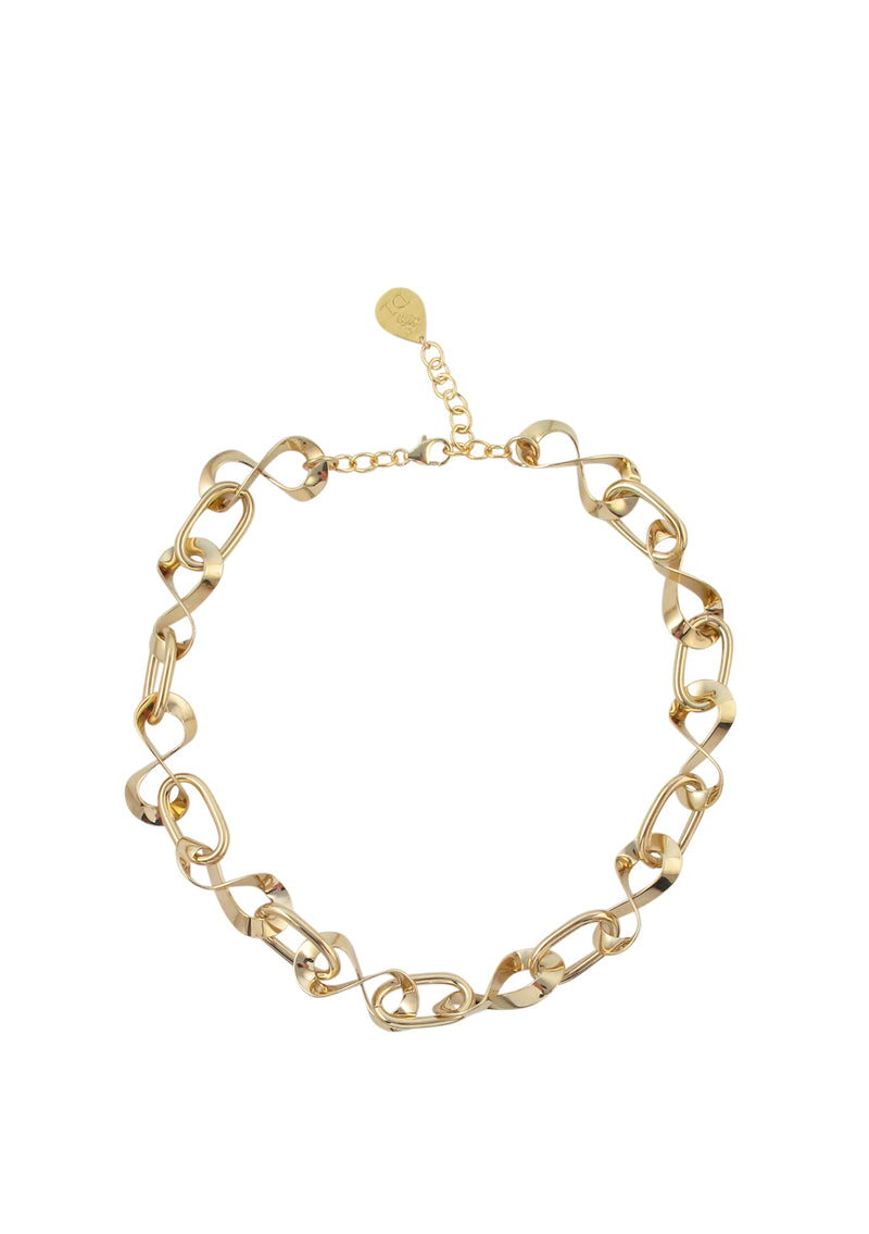 Gold Infinity Chain Necklace