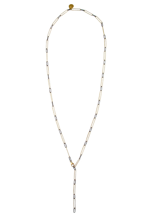 Two-Tone Gold and Silver Chain