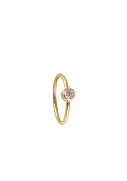 CZ Accent Gold Ring