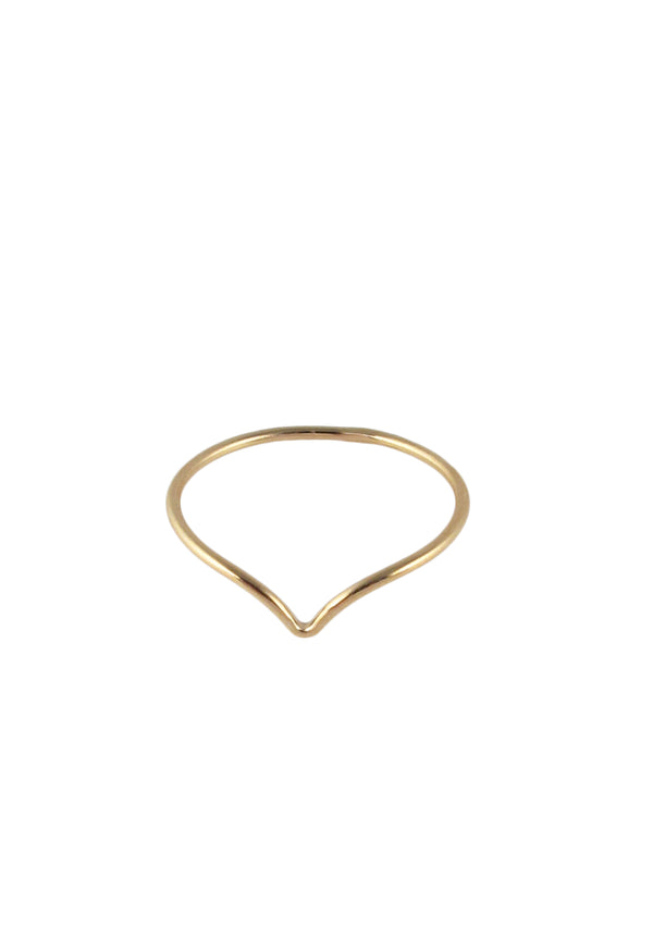 Chevron Gold Ring