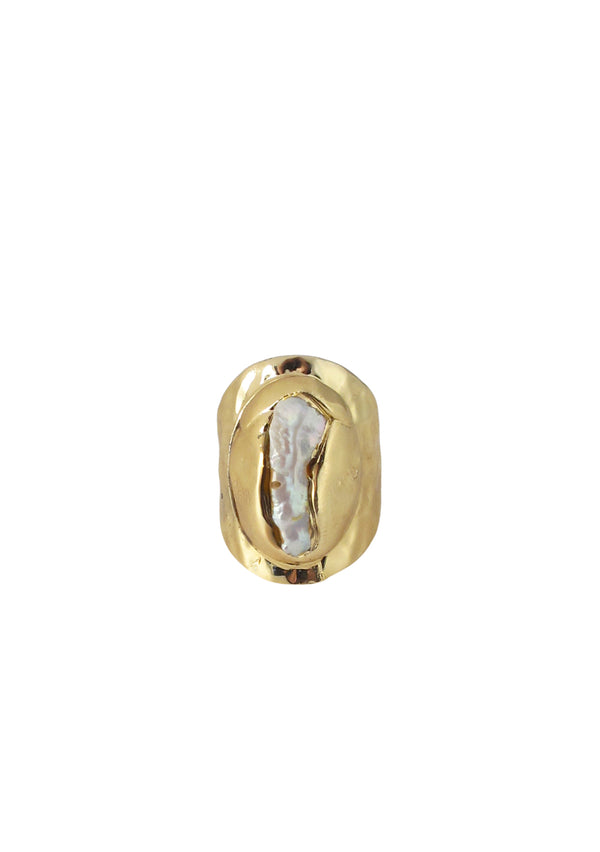 Freshwater Pearl Gold Ring
