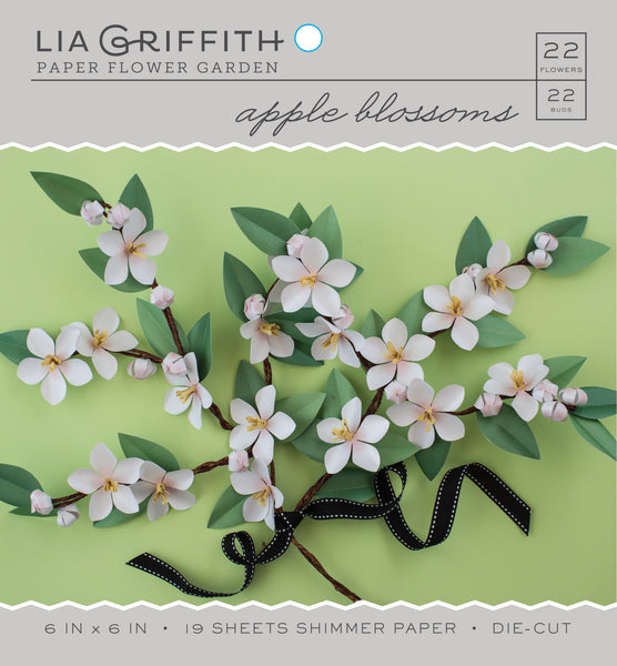 Apple Blossom Frosted Paper Flower Kit