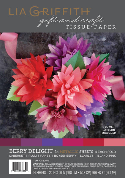Berry Delight Tissue Paper
