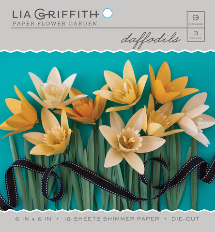 Daffodil Frosted Paper Flower Kit