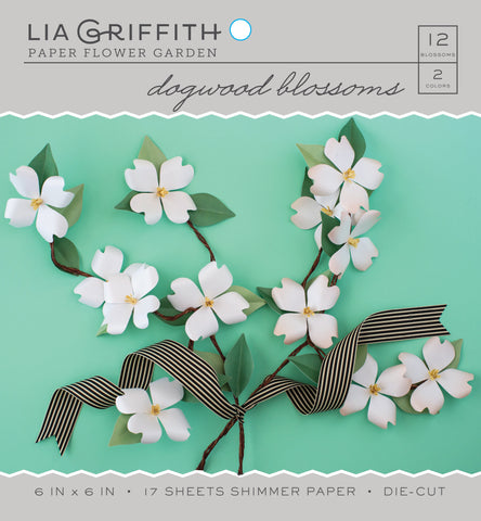 Dogwood Frosted Paper Flower Kit