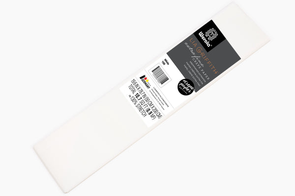 Single Pack - Extra Fine Crepe Paper – White